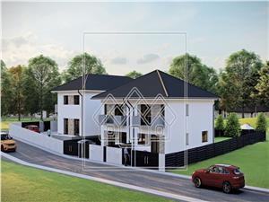 Casa de vanzare in Sibiu - Cisnadie - 4 camere - tip duplex