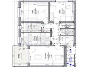Apartament 3 camere de vanzare in Sibiu - Decomandat cu Balcon si Pod