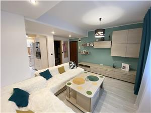 Apartament de vanzare in Sibiu-3 camere-mobilat si utilat-V. Aurie