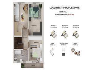 Casa de vanzare in Sibiu - Cisnadie - tip duplex - Z.Sala Polivalenta