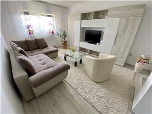 Apartament cu 2 camere de vanzare in Sibiu - mobilat si utilat
