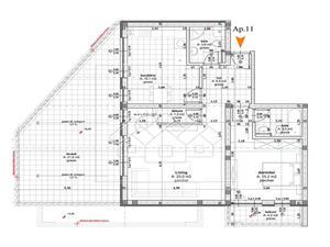 PENTHOUSE mit 5 Zimmern