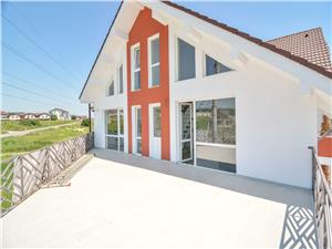 Penthouse for sale in Sibiu - 5 rooms - 2 terraces