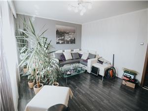 Apartament de vanzare in Sibiu-3 camere,2 bai si pivnita-Zona Terezian