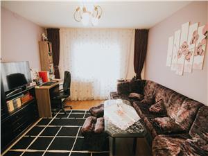 Apartament de vanzare in Sibiu-3 camere,2 bai si 3 balcoane-Z.Terezian