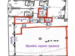 Spatiu de birouri de inchiriat in Sibiu - Zona Centrala