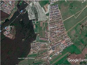 Teren de vanzare in Sibiu-Calea Cisnadiei-681 mp