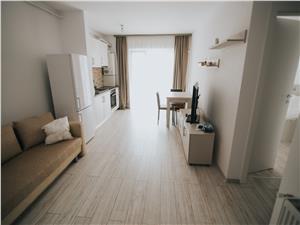 Apartament de inchiriat in Sibiu-2 camere cu balcon-etaj intermediar