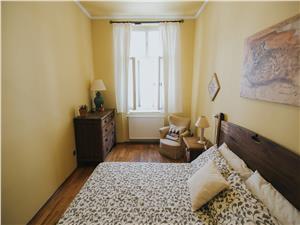 Apartament de inchiriat in Sibiu - mobilat si utilat - zona N.Balcescu
