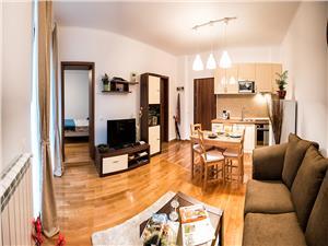 Apartament de inchiriat in Sibiu-2 camere la vila-mobilat si utilat