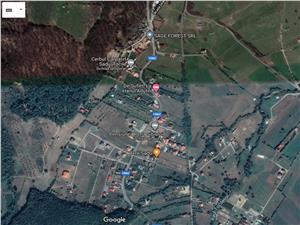 Teren intravilan de vanzare in Sibiu - Tocile - la asfalt