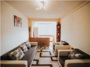 Apartament de vanzare in Sibiu- 2 camere si balcon-Zona Mihai Viteazu