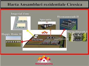 Apartament de vanzare in Sibiu - 3 camere si bucatarie separata