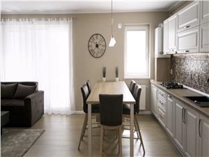 Apartament de inchiriat in Sibiu-mobilat si utilat modern-
