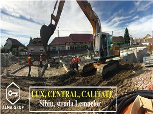 Garsoniera hibrid de vanzare in Sibiu - 33.2 mp si terase de 9.5 mp
