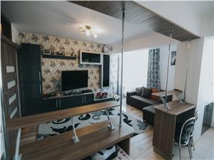 Apartament de vanzare in Sibiu-2 camere-Mobilat si utilat-M.Viteazu