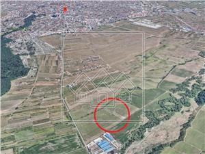 Teren de vanzare in Sibiu - 4386 mp - Calea Cisnadiei