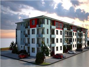 Garsoniera hibrid de vanzare in Sibiu - 30.6 mp si terasa de 5.3 mp