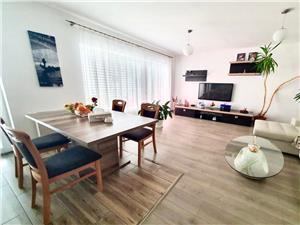 Apartament de vanzare in Sibiu-3 camere modern utiliate si balcon-