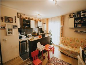 Apartament de vanzare in Sibiu-3 camere cu balcon-Zona Gusterita