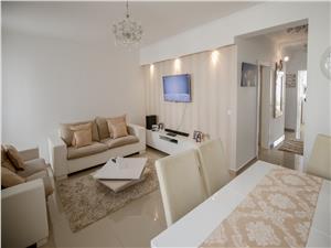 Apartament de vanzare in Sibiu - mobilat si utilat- curte libera 103mp