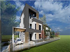 Casa individuala in Cisnadie-cartier privat-zona lux, deosebit