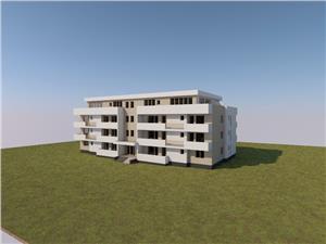 Apartament de vanzare in Sibiu- 2 camere si terasa generoasa