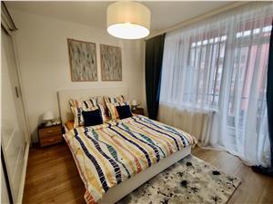 Apartament 2 camere de vanzare in Sibiu, mobilat modern, etaj 2