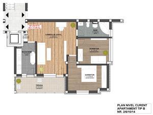 Apartament de vanzare in Sibiu - 3 camere - zona Piata Cluj