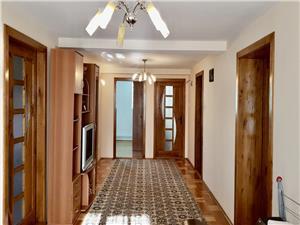 Apartament cu 4 camere de inchiriat in Sibiu -la casa-Sos. Alba Iulia