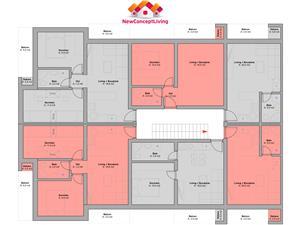 Apartament 3 camere de vanzare in Sibiu + gradina -INTABULAT