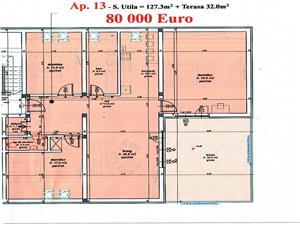 Apartament de vanzare Sibiu- Confort lux- 4 camere si terasa