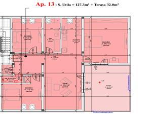 Apartament de vanzare Sibiu - Confort lux - 4 camere si terasa