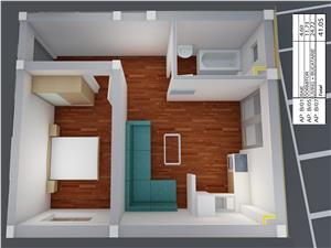 Apartament de vanzare in Sibiu- 2 camere - imobil nou