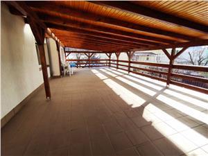 Apartament 3 camere de inchiriat in Sibiu - in vila - Strand - terasa