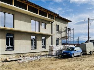 Apartament de vanzare in Sibiu - vila cocheta - gradina de 101 mp