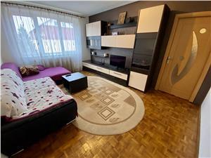 Apartament 4 camere de vanzare in Sibiu - zona Rahovei, reper Biteco