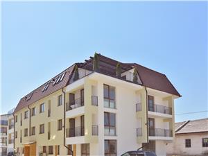 Penthouse de vanzare in Sibiu - decomandat - 4 camere - terasa 32 mp