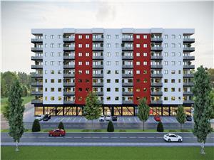 Apartament 3 camere de vanzare in Sibiu - balcon 10 mp -zona M.Viteazu