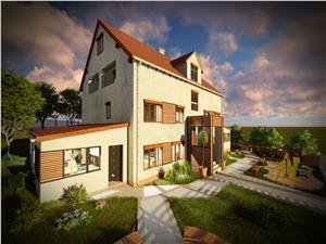 Apartament de vanzare Sibiu -Cisnadie- compartimentat practic