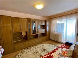 Garsoniera de vanzare in Sibiu - mobilata si utilata -etaj intermediar