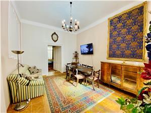 Apartament de vanzare in Sibiu -5 camere si 3 bai- Pretabil investitii