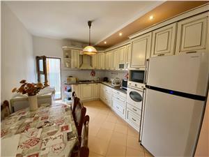 Apartament 5 camere de vanzare in Sibiu - Calea Dumbravii - curte