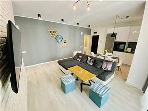 Apartament de vanzare in Sibiu - 3 camere si 2 balcoane - Selimbar
