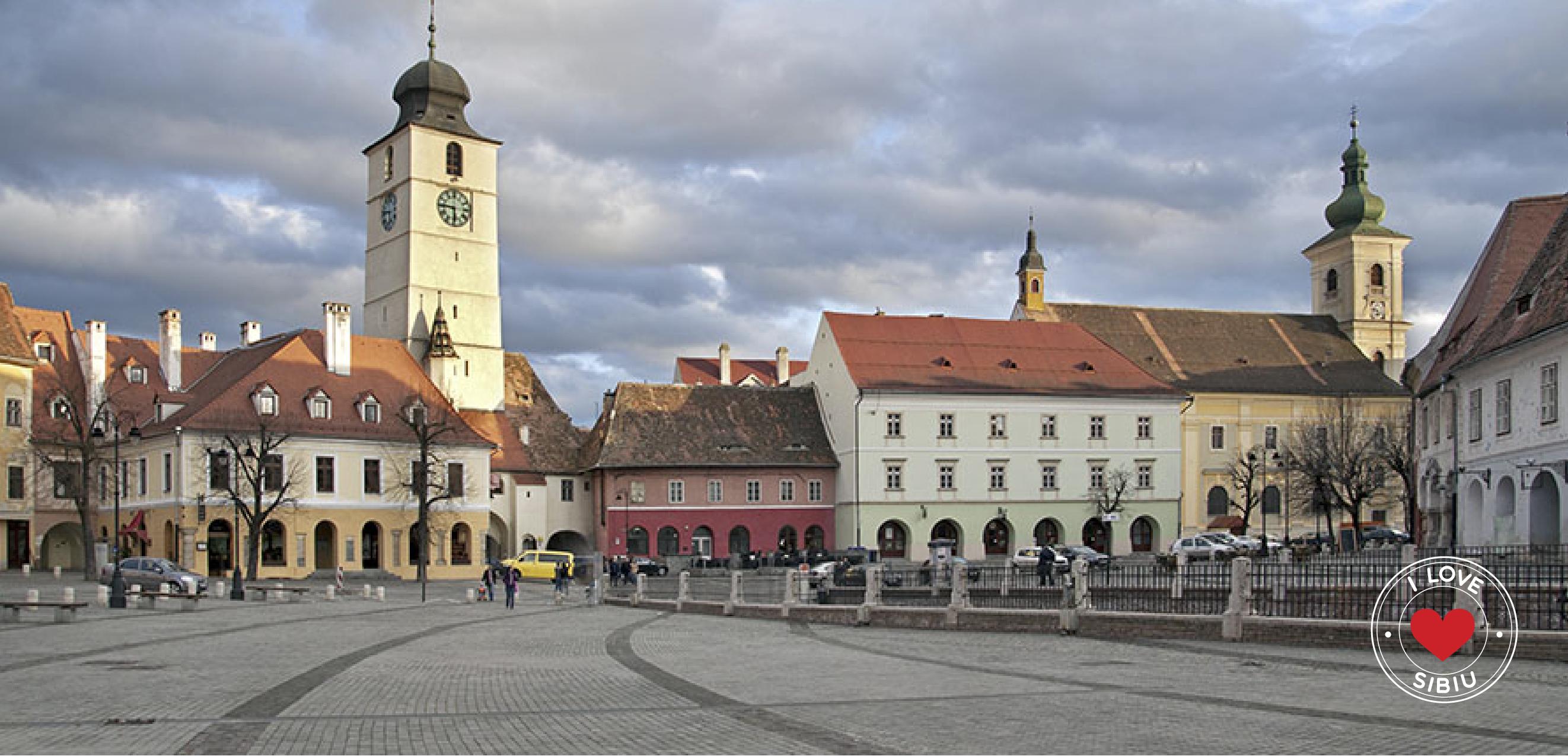 Vino si descopera orasul. I Love Sibiu!